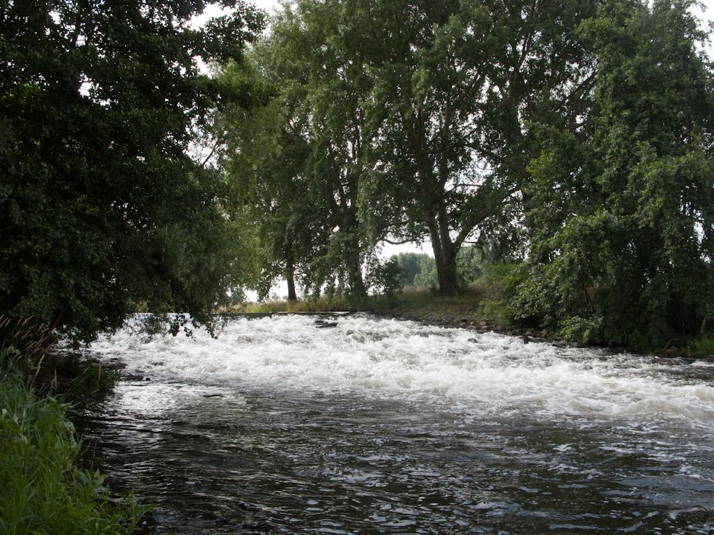 Het watervalletje in de Rur